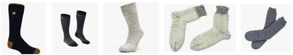 chaussette grand froid